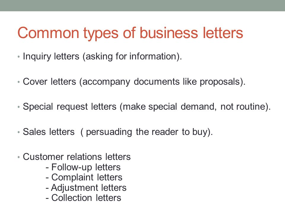 follow up business letter