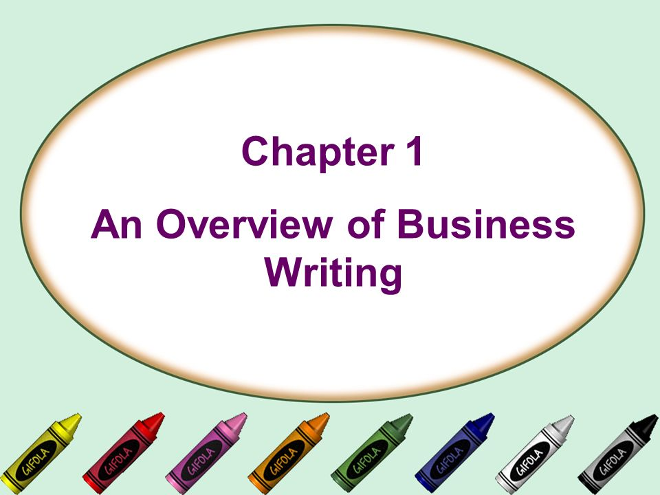 writing an overview Writing an overview - give your assignments to the most talented writers commit your essay to experienced scholars employed in the service receive a 100% authentic.