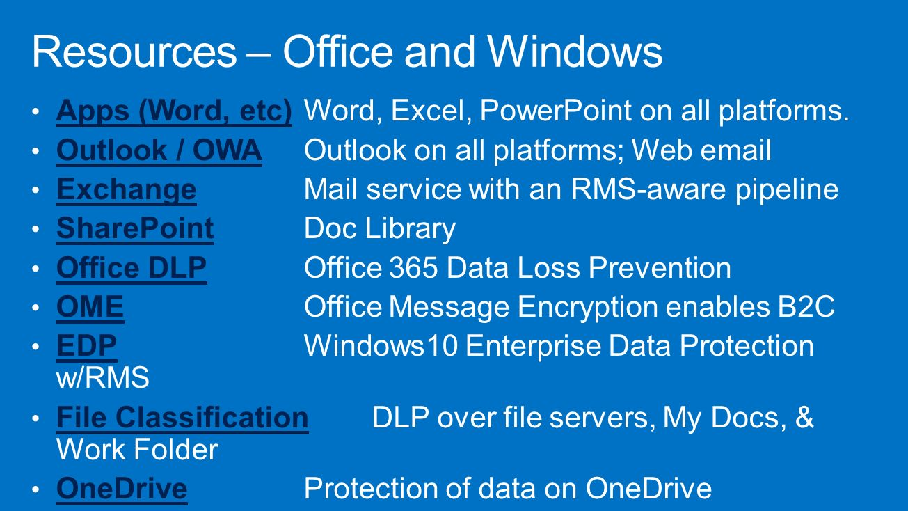Azure rights management ppt download - Rights management services office 365 ...