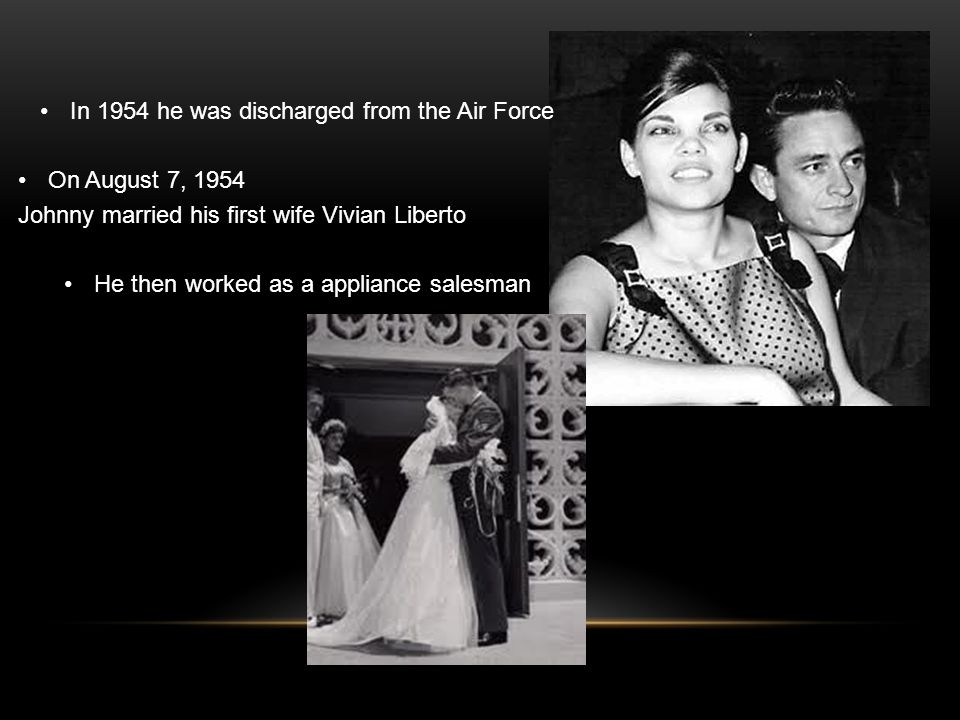 Johnny Cashs First Wife Was An Italian