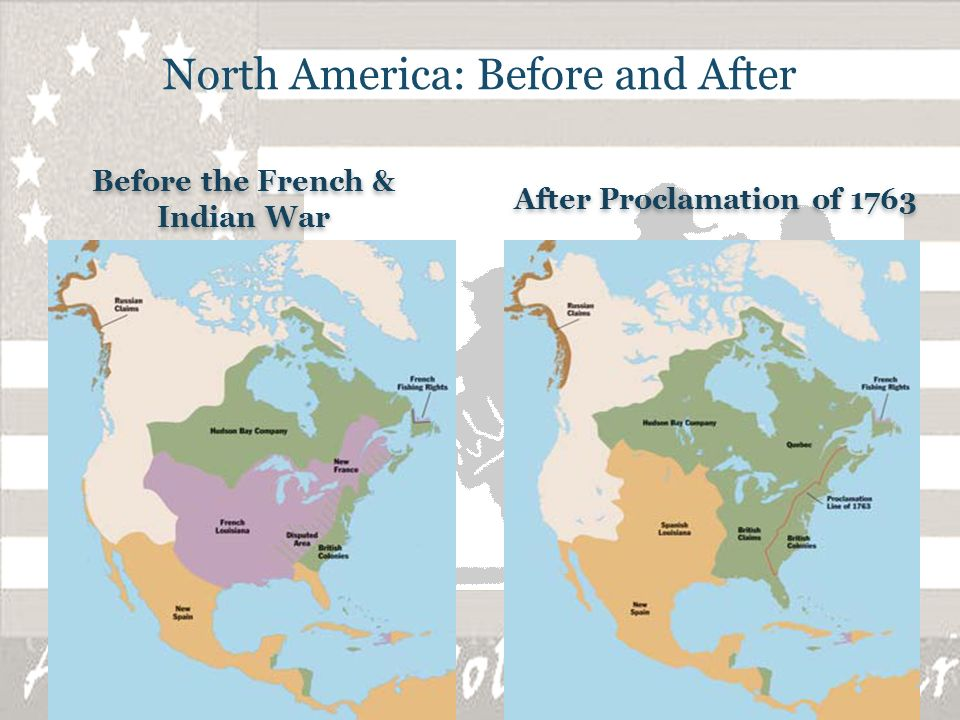 French and indian war before and after