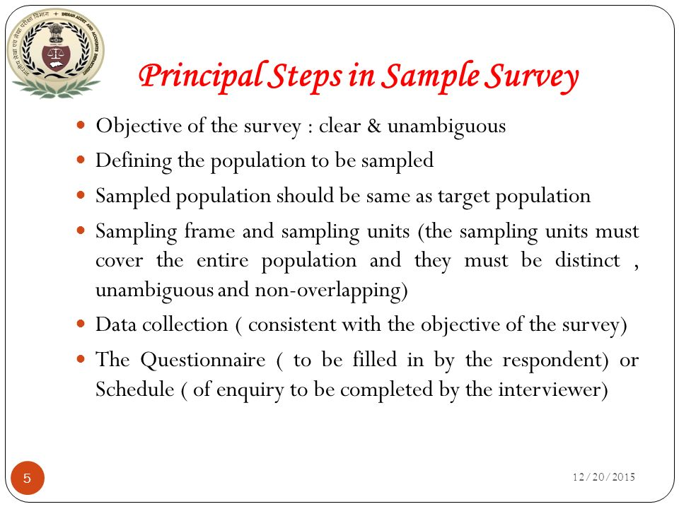 what is a sample survey
