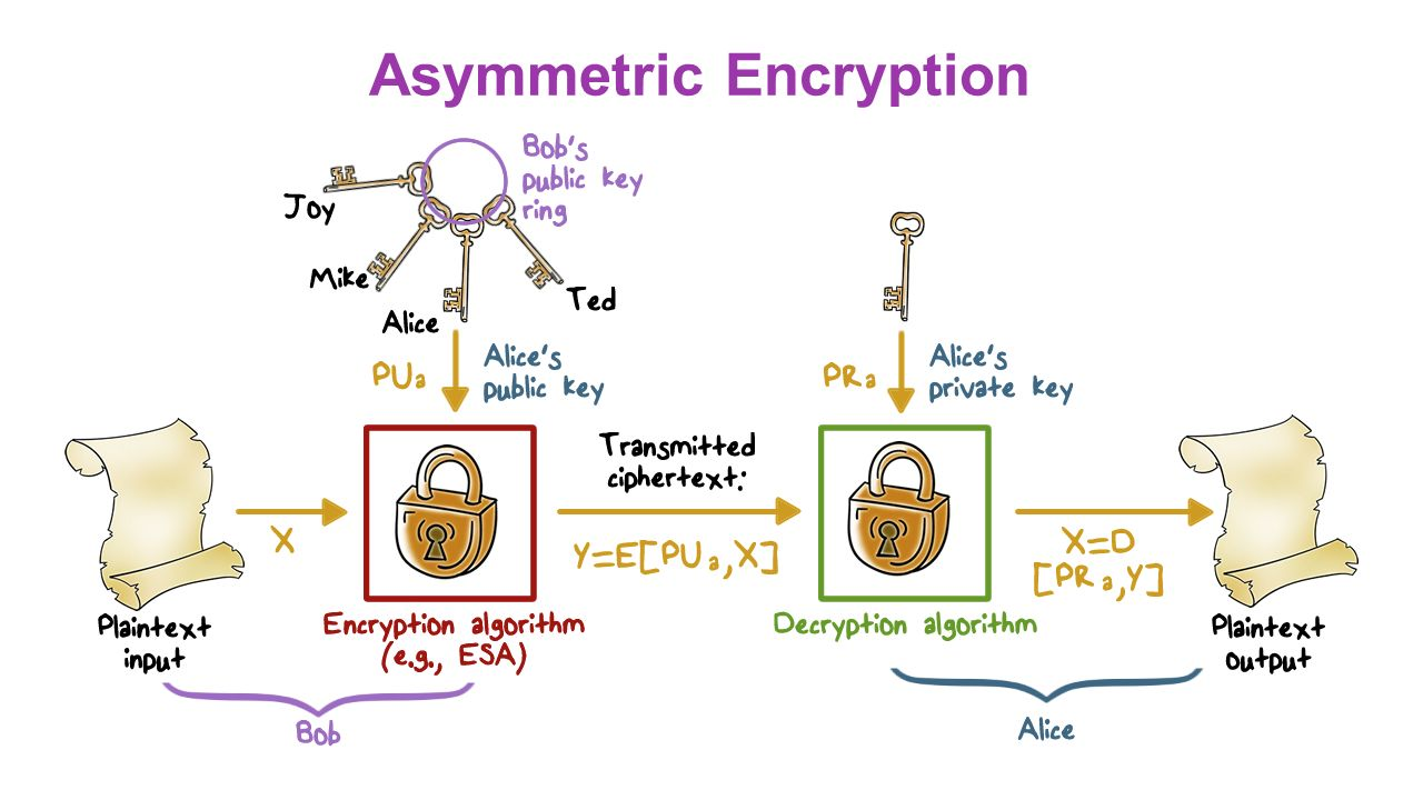 asymmetric encryption Cryptography, encryption, decryption, and public and private keys are concepts  that have always been difficult for me to grasp as the brilliant.