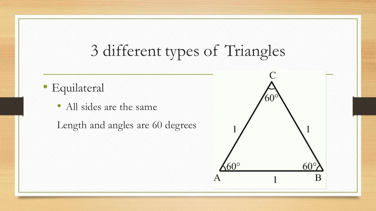 how to draw triangles with degrees
