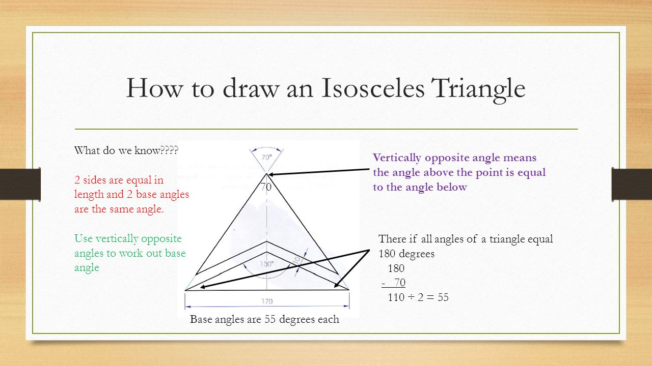 Right Angle Base : Triangles st year p chapter ppt video online download