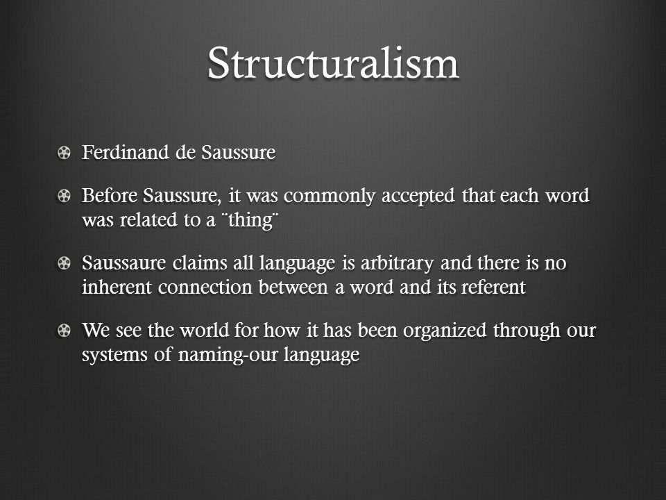structuralism developed by ferdinand de saussure essay Writing sample of essay on a given topic difference between structuralism and functionalism in linguistics.