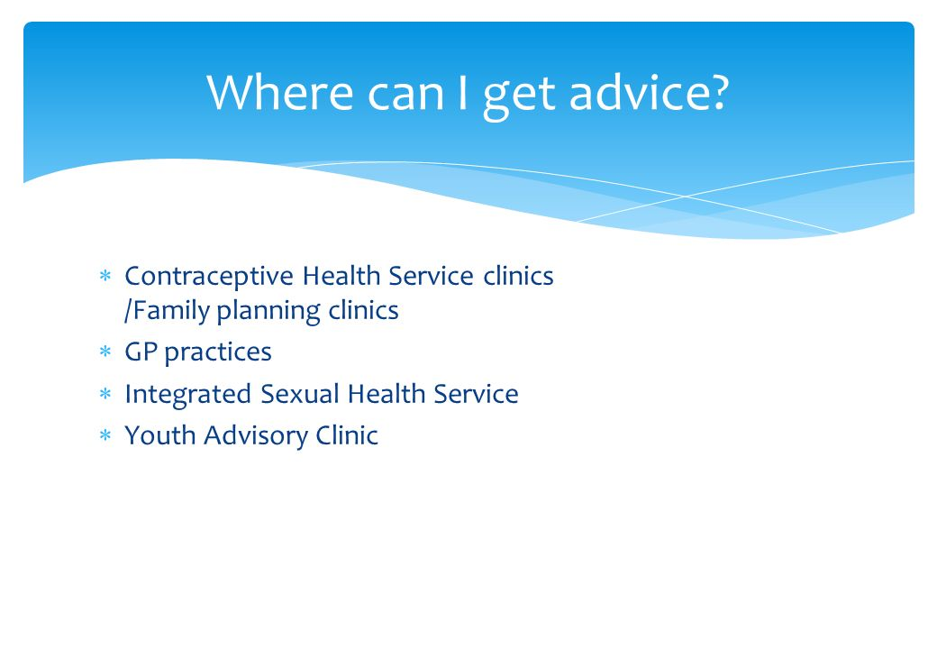 Contraception sexual health your responsibility to for Family planning com