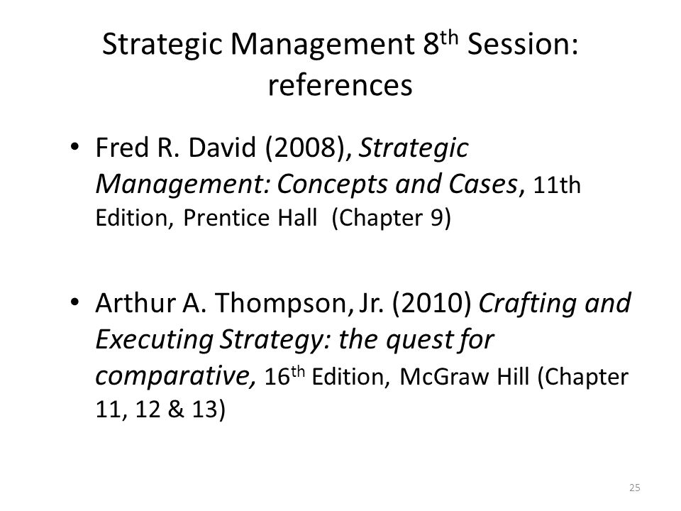 chapter 9 strategic management Management, 11th edition by stephen p robbins, mary a coulter chapter 1: management and organizations management history module chapter 9: strategic management part iv: organizing chapter 10: basic organizational design.
