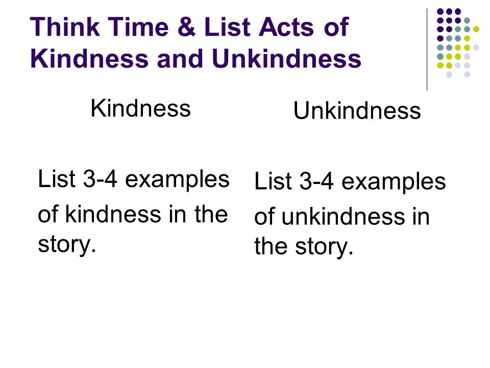 essay on random acts of kindness In today's hustle and bustle, it is to easy to move through the day disconnected from our capacity as humans to be kind and caring fluent in kindness is a campaign that encourages and reminds us to develop our ability for kindness.