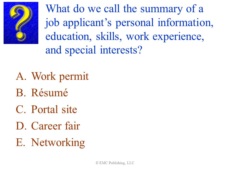 summarize special skills and qualifications