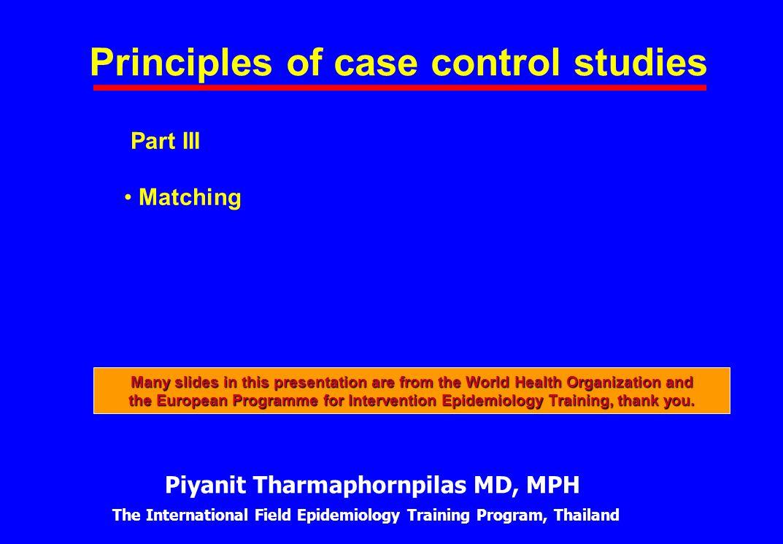 analysis of case control studies ppt