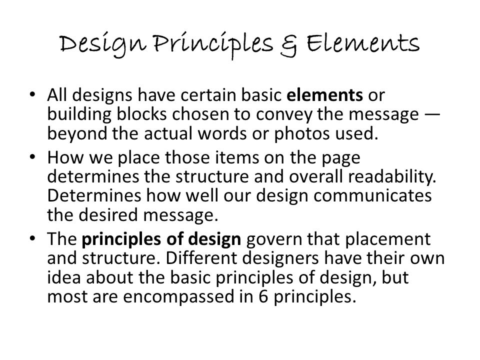 Different Principles Of Design : Basic design principles elements ppt video online download