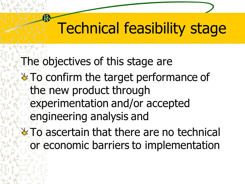 Chap 10 managing engineering design ppt video online download 36 technical feasibility stage fandeluxe Choice Image