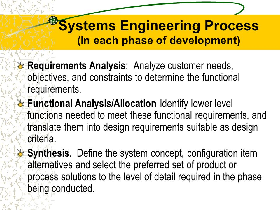Chap 10 managing engineering design ppt video online download 7 systems engineering fandeluxe Choice Image