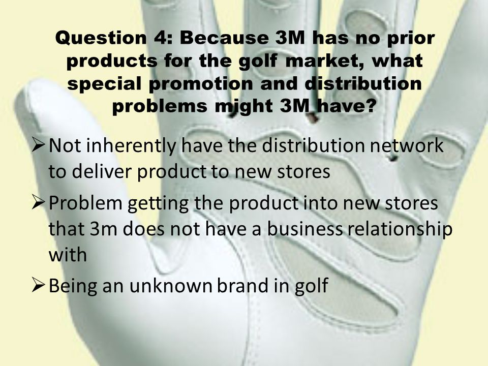 3m greptile grip golf glove video Marketing 11th tb-forum oct 1st video case 14: 3m greptile grip golf glove: pricing an innovative product, 366 appendix b financial aspects of marketing, 368.
