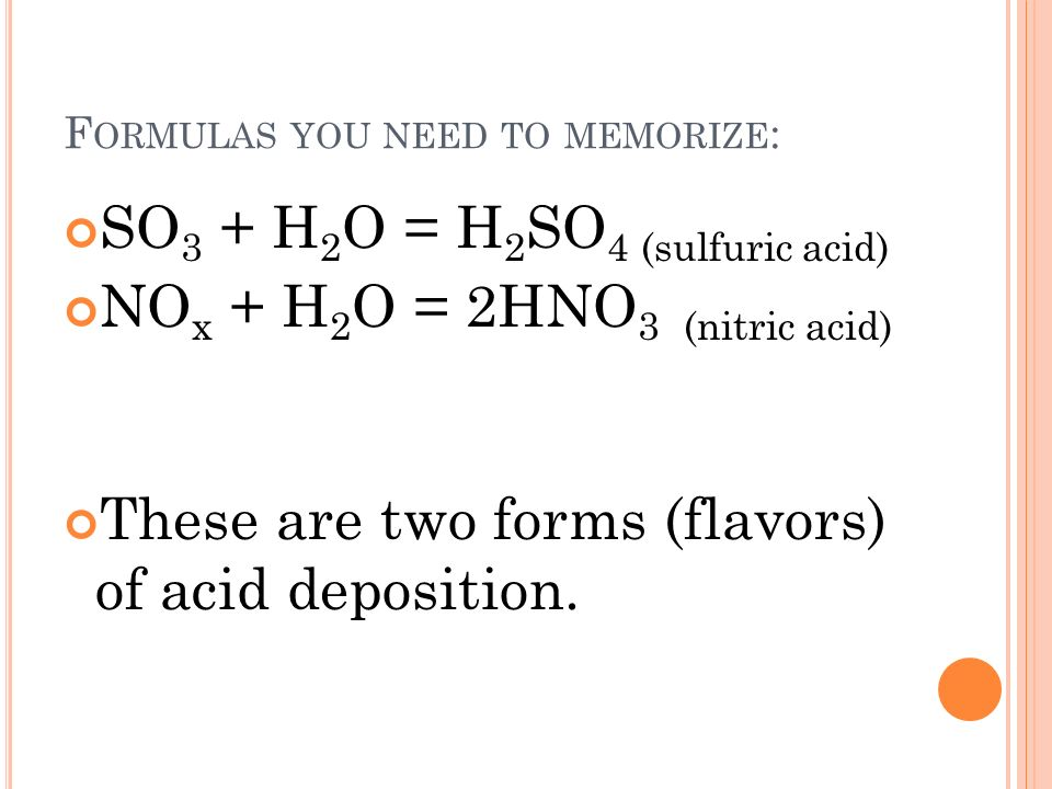 Acid Rain How does it form? Where is this a problem? - ppt video ...