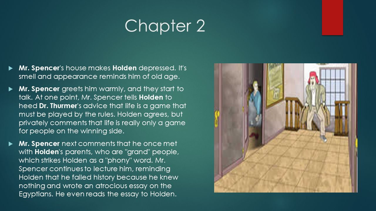 the catcher in the rye chapters ms de la o ppt video  2 chapter