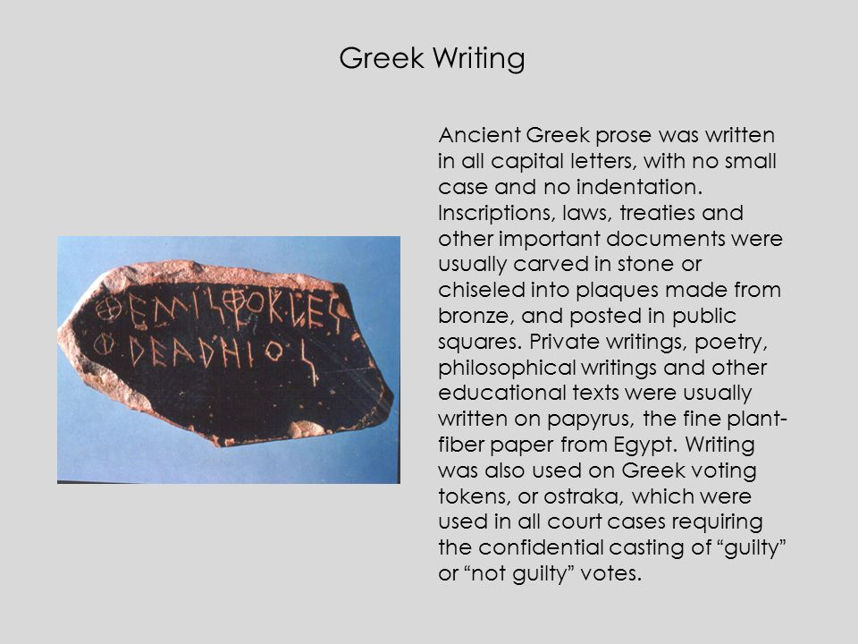 greek history essay presentation and conventions Basics of english studies: an introductory course for students of  presentation of temporal frames  character and genre conventions.