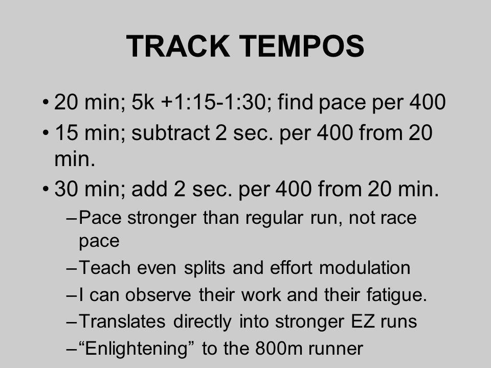 how to find pace per km