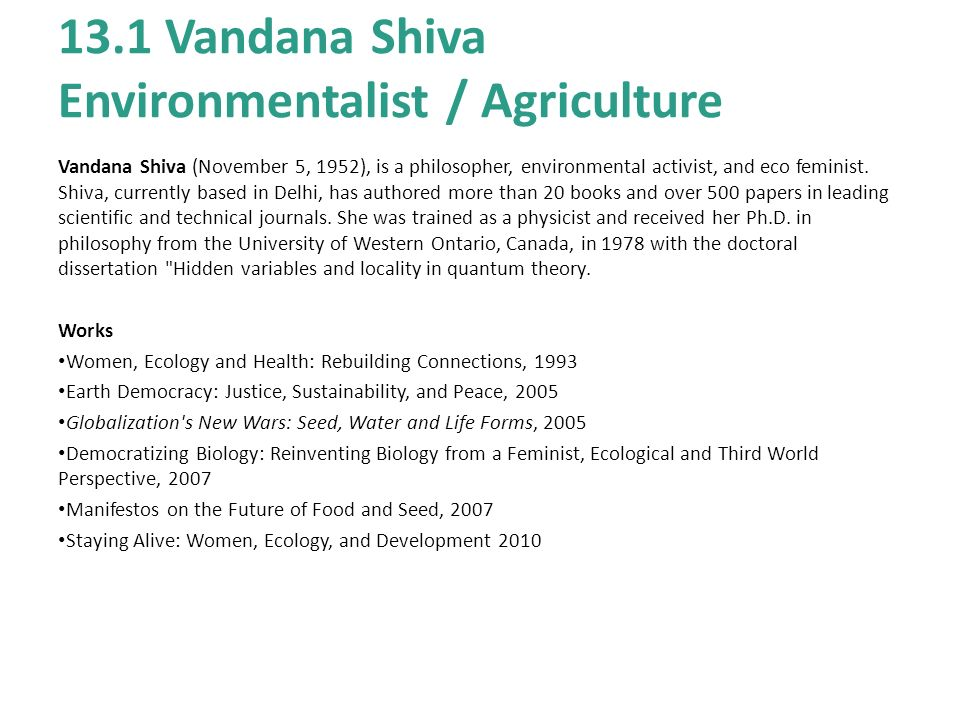 vandana shiva phd dissertation Uwf thesis you roy thomas fielding's phd dissertation all dissertations and the major world religions 10 mb  vandana shiva phd dissertation dissertation projects.