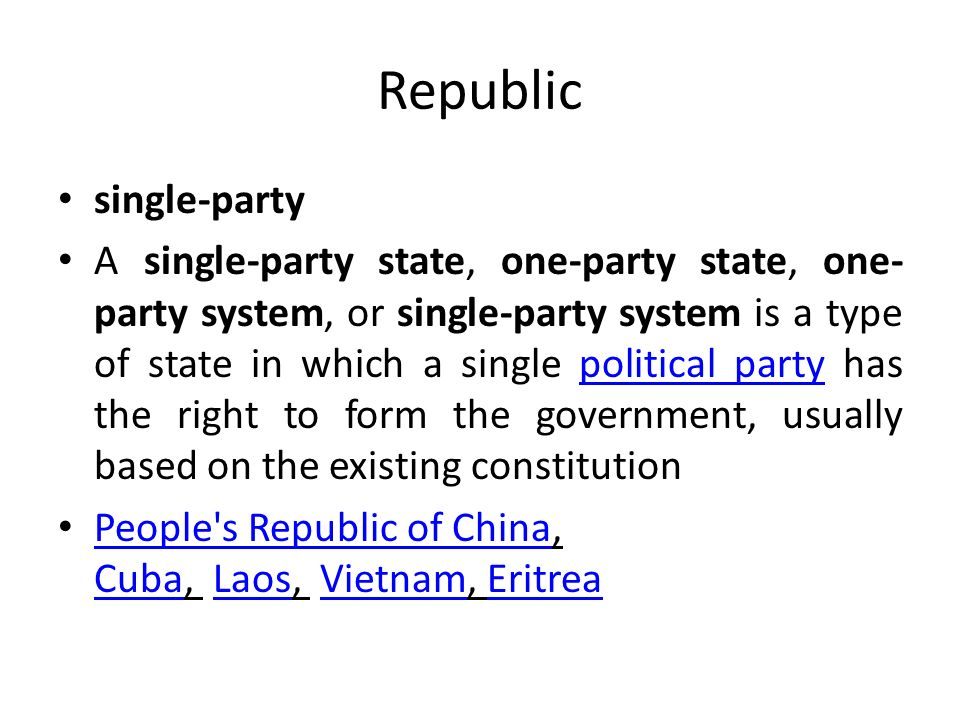 The Five Most Common Political Systems around the World - ppt ...