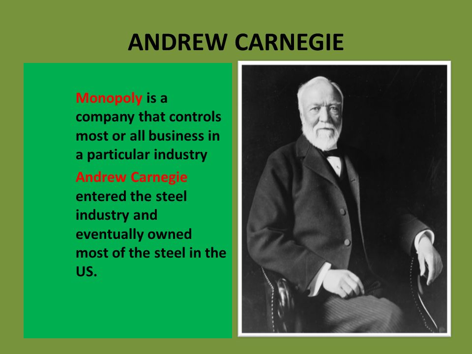 """the major contributions of john rockefeller and andrew carnegie to society The term """"big business"""" is often used to characterize industrial expansion after  the civil war  american society and culture, 1865–1900  carnegie steel,  founded by scottish immigrant and railroad entrepreneur andrew carnegie   john d rockefeller created standard oil of ohio in 1870, and the company  quickly."""