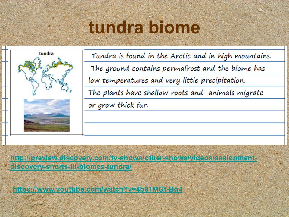 The Earth's Biomes. - ppt download