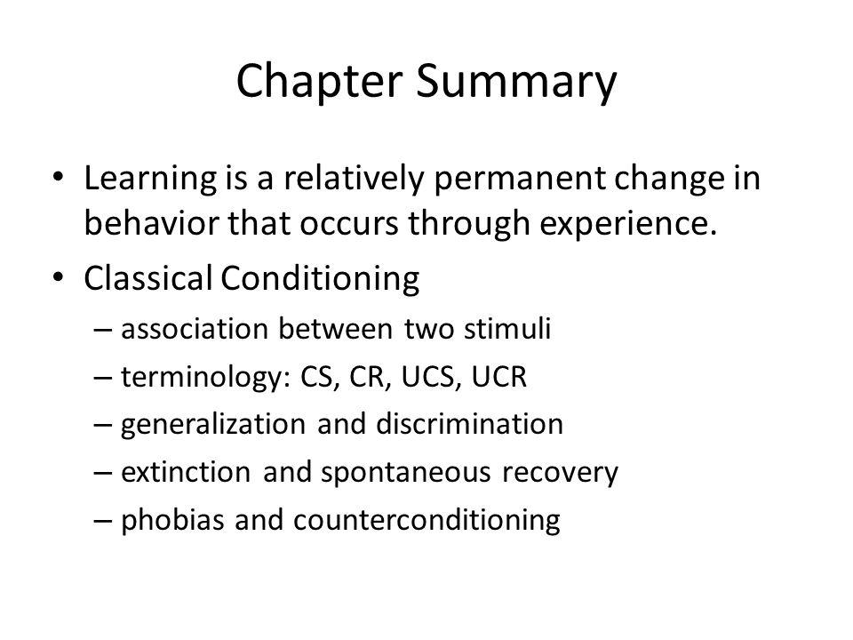 psychology generalization and discrimination