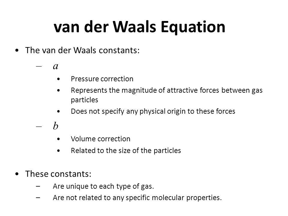 van der waals interaction pdf