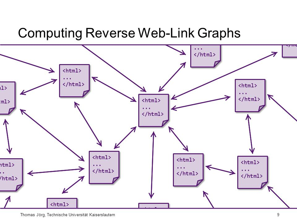 Computing Reverse Web-Link Graphs