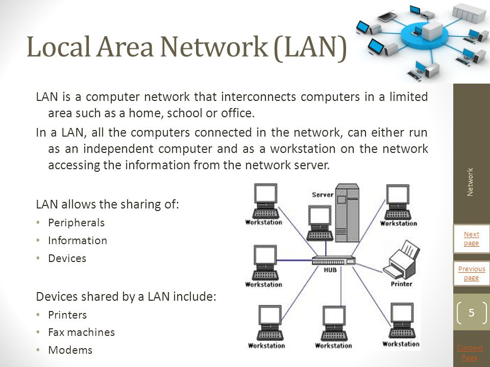 advantages and disadvantages of local area network