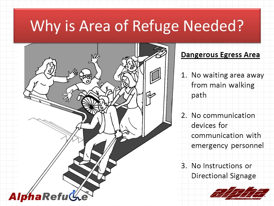 Area Of Refuge It S The Law Ppt Video Online Download