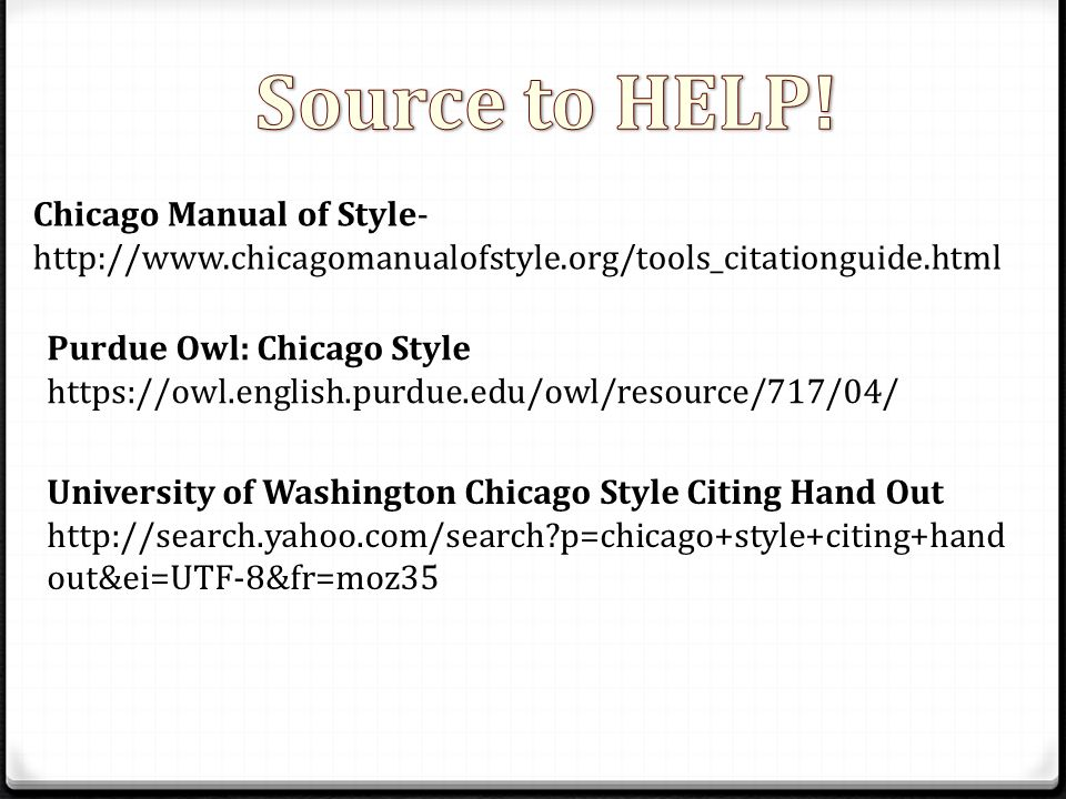 chicago manual of style citations Style guide for in-text citations in chicago style footnotes – chicago bibliography in chicago style, footnotes or endnotes are used to reference pieces of work in the text.