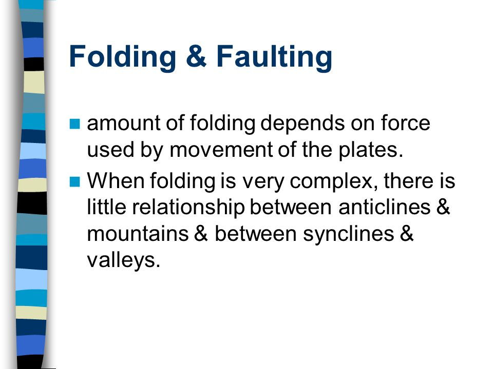 faulting and folding relationship quizzes