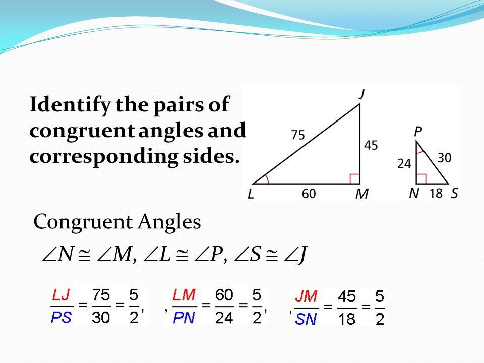 how to know if two triangles are similar without numbers