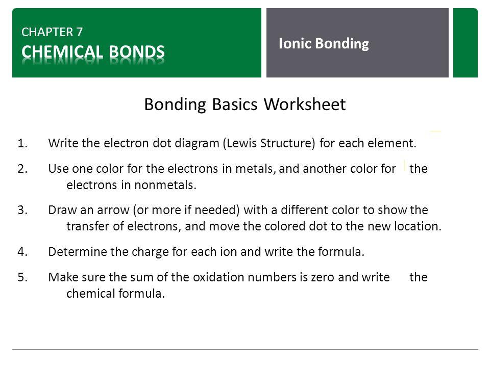 chemical bonds chapter 7 8 ppt video online download. Black Bedroom Furniture Sets. Home Design Ideas