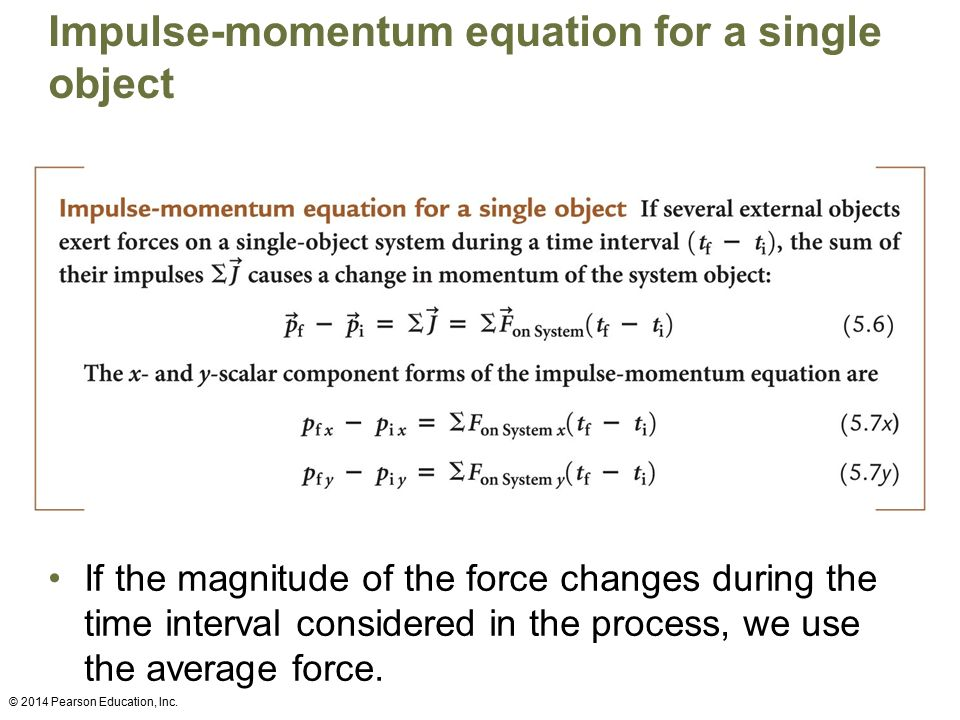 impulse and linear momentum ppt download