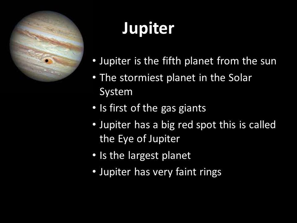 jupiter fifth planet - photo #15