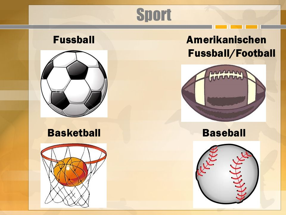 Amerikanischen Fussball/Football