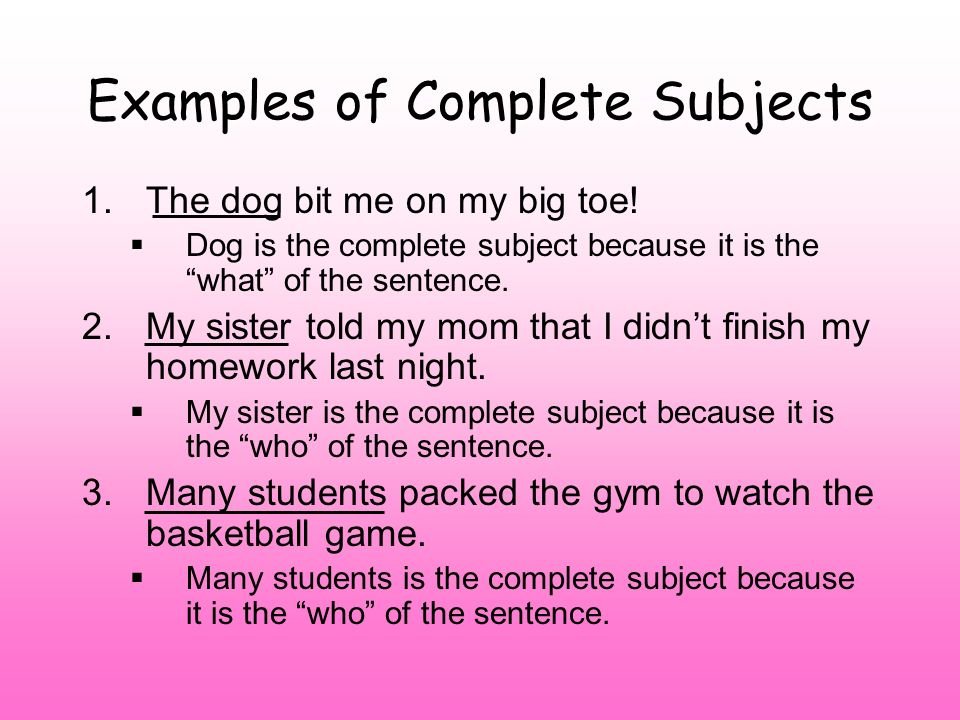 Subject And Predicate No Fragments Ppt Video Online Download