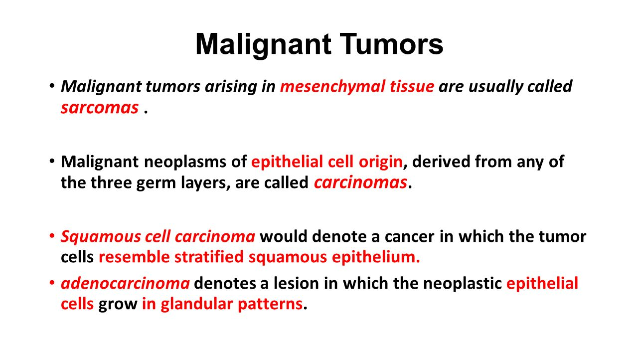 Classification of Tumors - ppt video online download