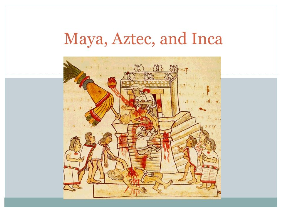 aztec and mayan difference The olmec, mayan, incan, and aztec civilizations are some of the greatest ancient civilizations in history, and yet we know very little about them compared to other parts of the world the olmecs are frequently forgotten entirely, and the rest are often lumped together or confused, but they were all.
