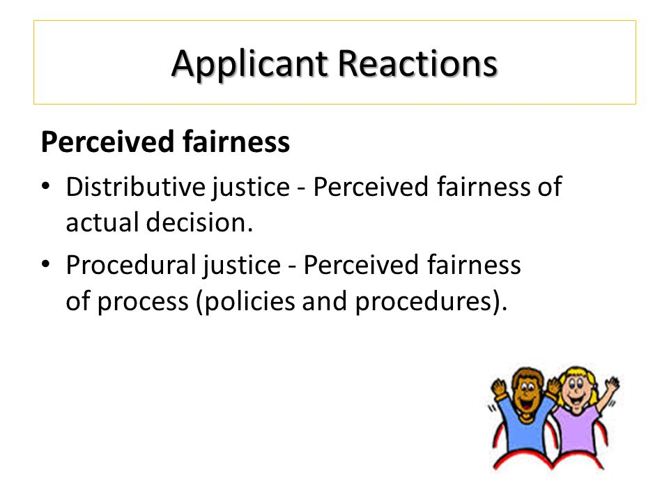 influence of procedural justice and distributive Objectives procedural justice perceptions are shown to be associated with minor psychiatric disorders, long sickness absence spells, and poor self-rated health, but previous studies have rarely considered how changes in procedural justice influence changes in health.