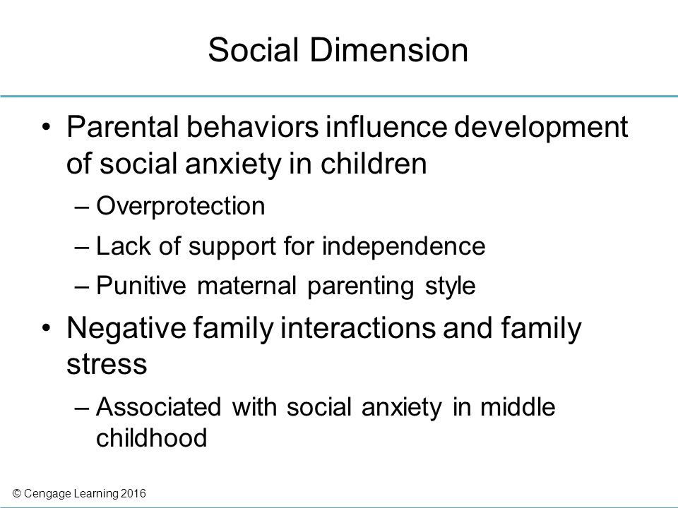 an analysis of the effect of social anxiety disorder on social interactions For whom social interactions consistently provoke distress medication effects, or other anxiety disorders with social anxiety disorder experiencing the onset.