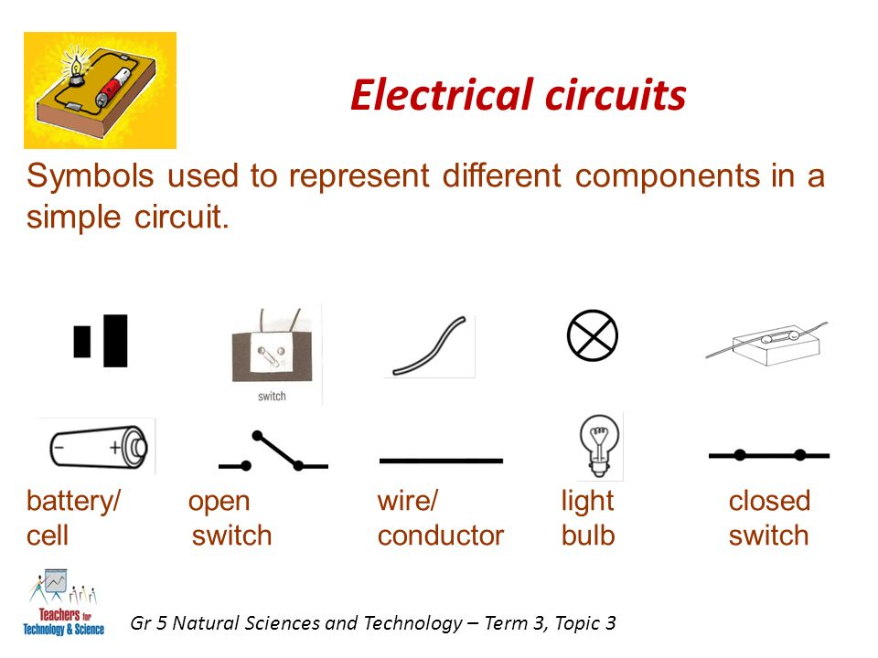 Simple Electrical Circuit Symbols - efcaviation.com