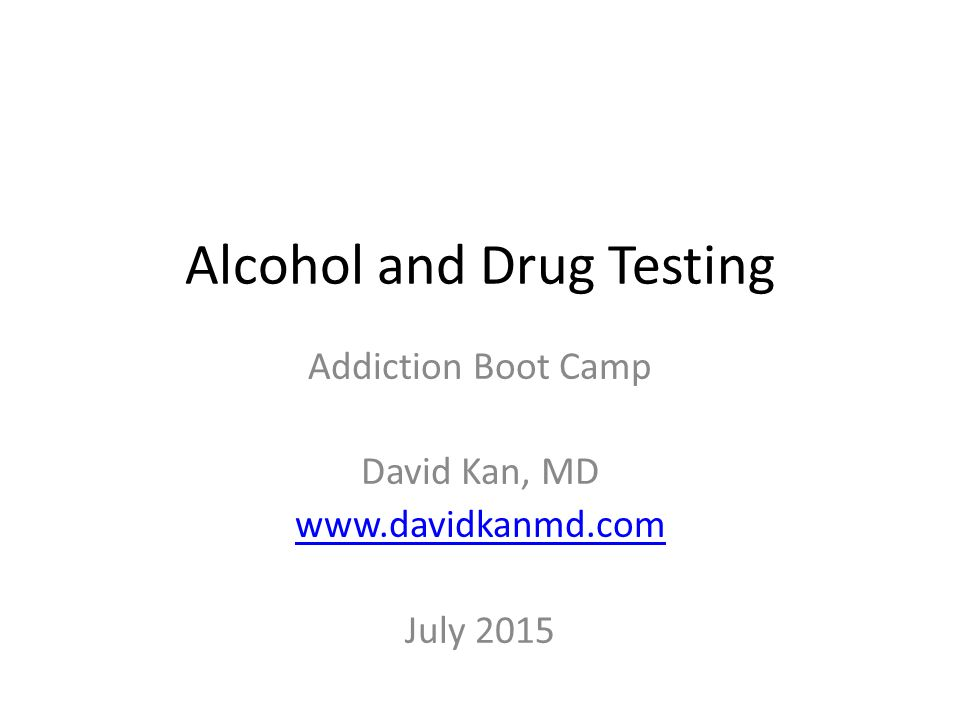 drug testing and addiction A new consensus document from the american society of addiction medicine (asam) provides practical, evidence-based recommendations on the use of drug testing for identification, diagnosis.
