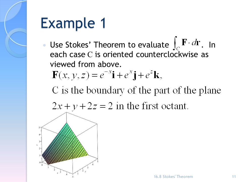 Chapter 16 – Vector Calculus - ppt video online download
