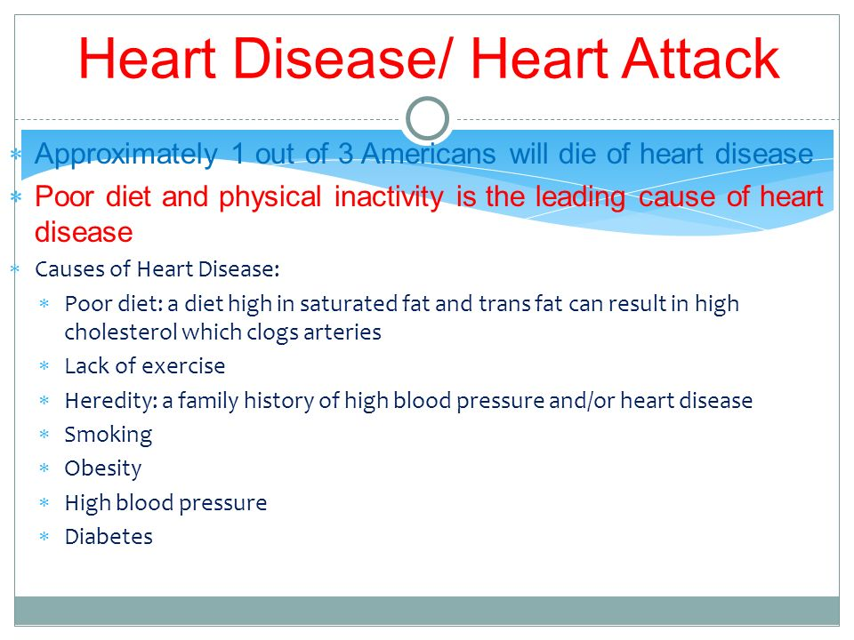Diet and heart health