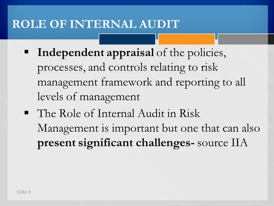 role of internal auditor Duties and responsibilities of internal auditor - download as word doc (doc / docx), pdf file (pdf), text file (txt) or read online.