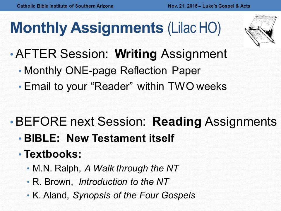 new testament reflection paper Guidelines for writing a research paper in new testament exegesis  in your  research and reflection as well as your writing of the paper.